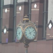 Downtown nola clock