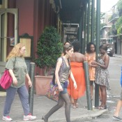 Random People Downtown New Orleans