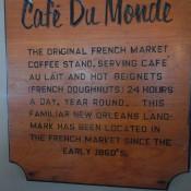 Cafe Du Monde History