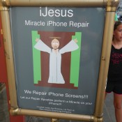 Holy iPhone repair!
