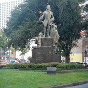 Statue downtown  New Orleans