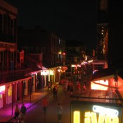 Bourbon Street Waking Up
