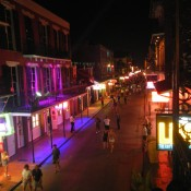 Bourbon Street Just getting warmed up