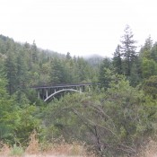 Six Rivers National Forest bridge