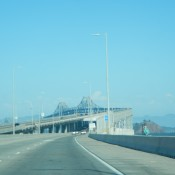 Bridge into Oakland