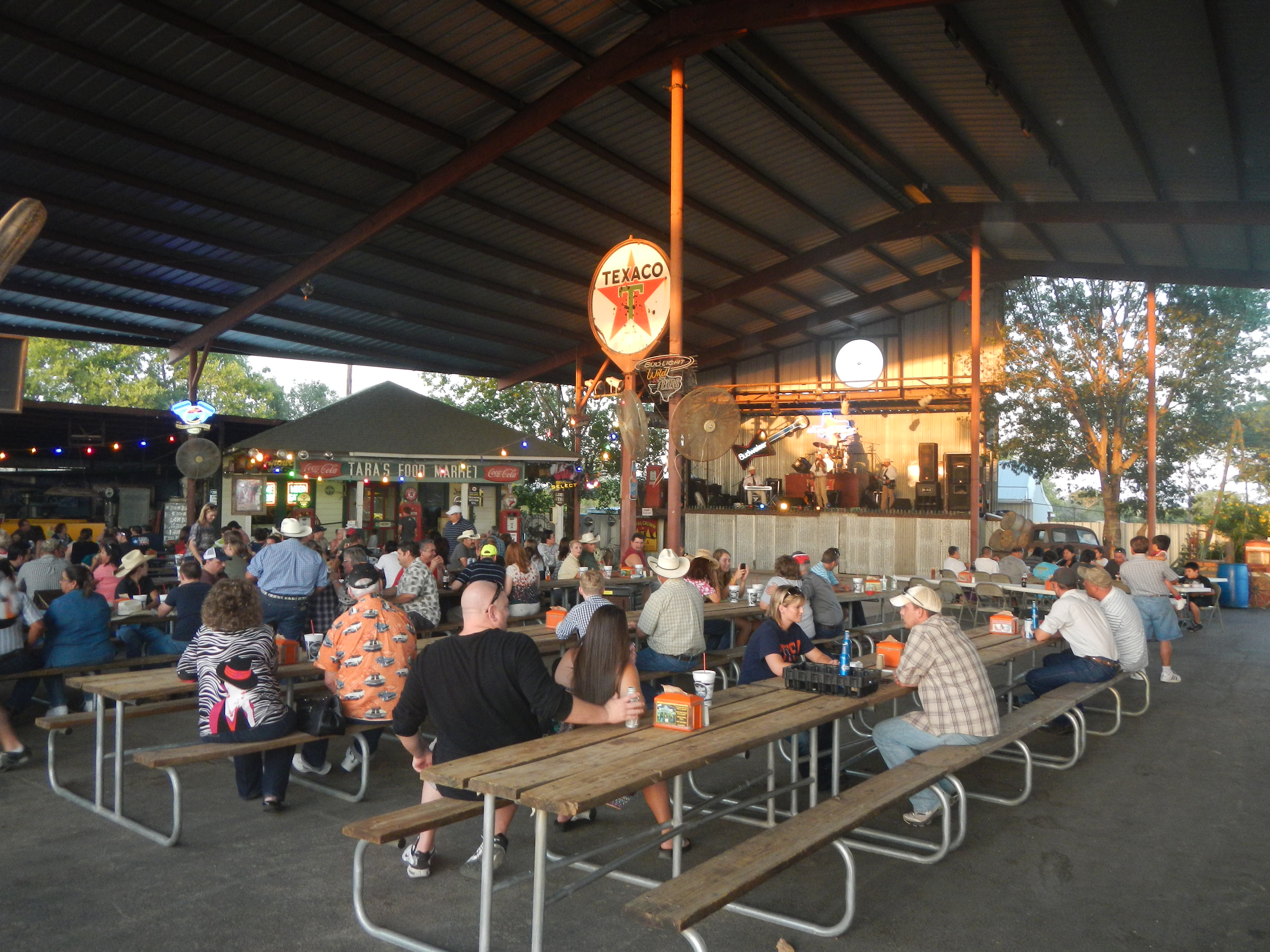 Outside Seating And Live Music