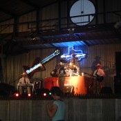 Live band on stage  Texas Pride