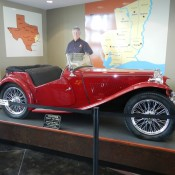 Car in Texas Welcome Center
