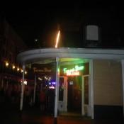 Blurry Bourbon St New Orleans LA