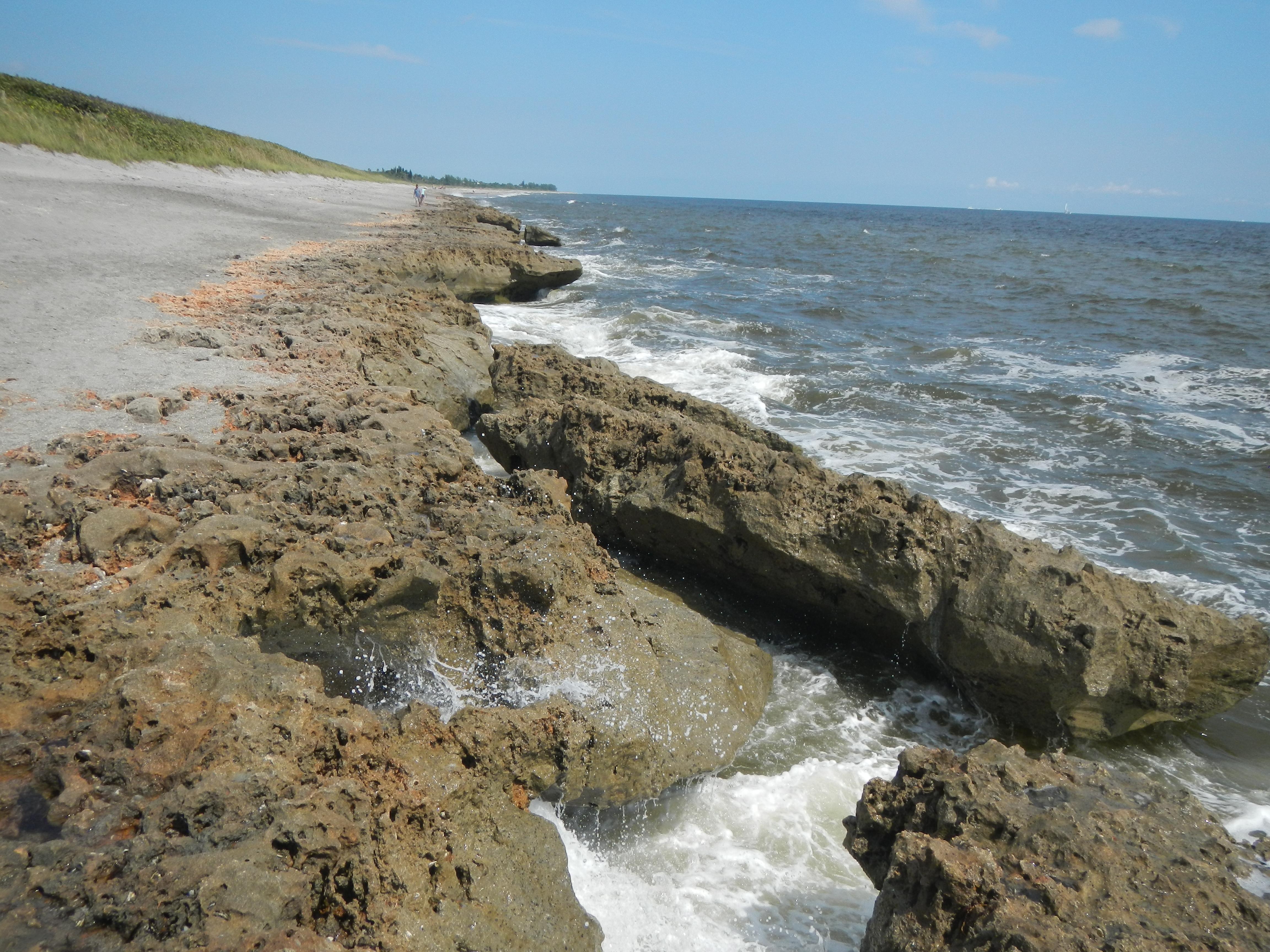 Blowing Rocks Preserve Jupiter FL Beach Where To Go FL Beaches - Florida map jupiter