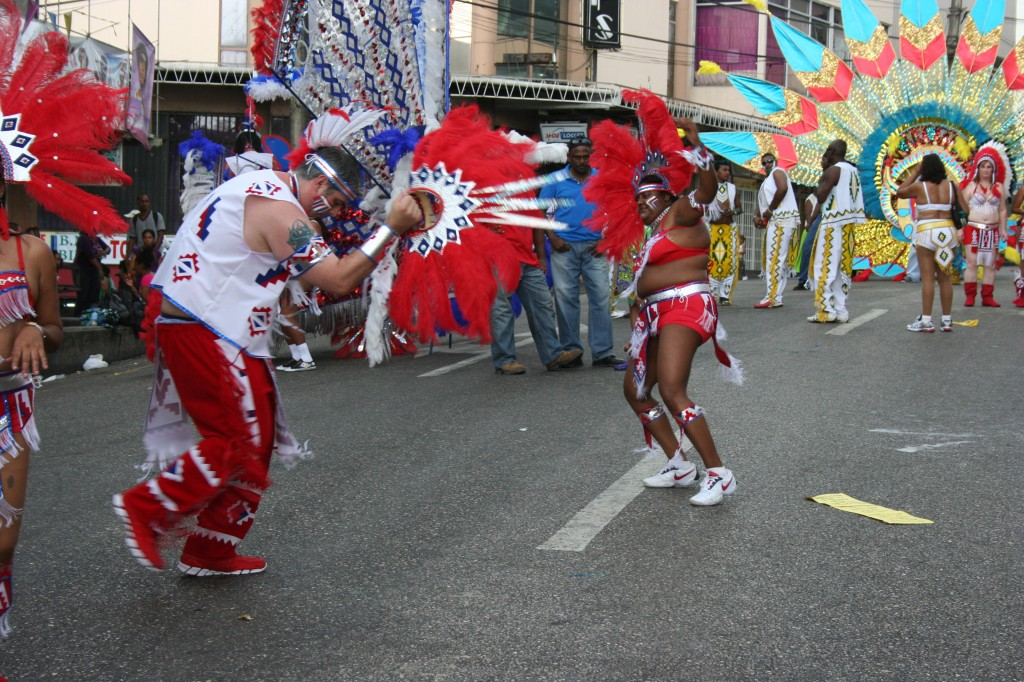 wining and dancing Carnival in Trinidad