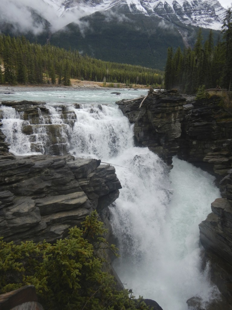 Waterfall in Athabasca Pass