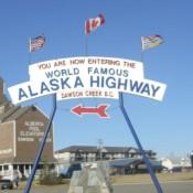 Alaska Highway Mile Zero in Dawson Creek
