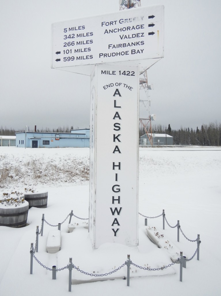 The End of the Alaska Highway in Delta Junction