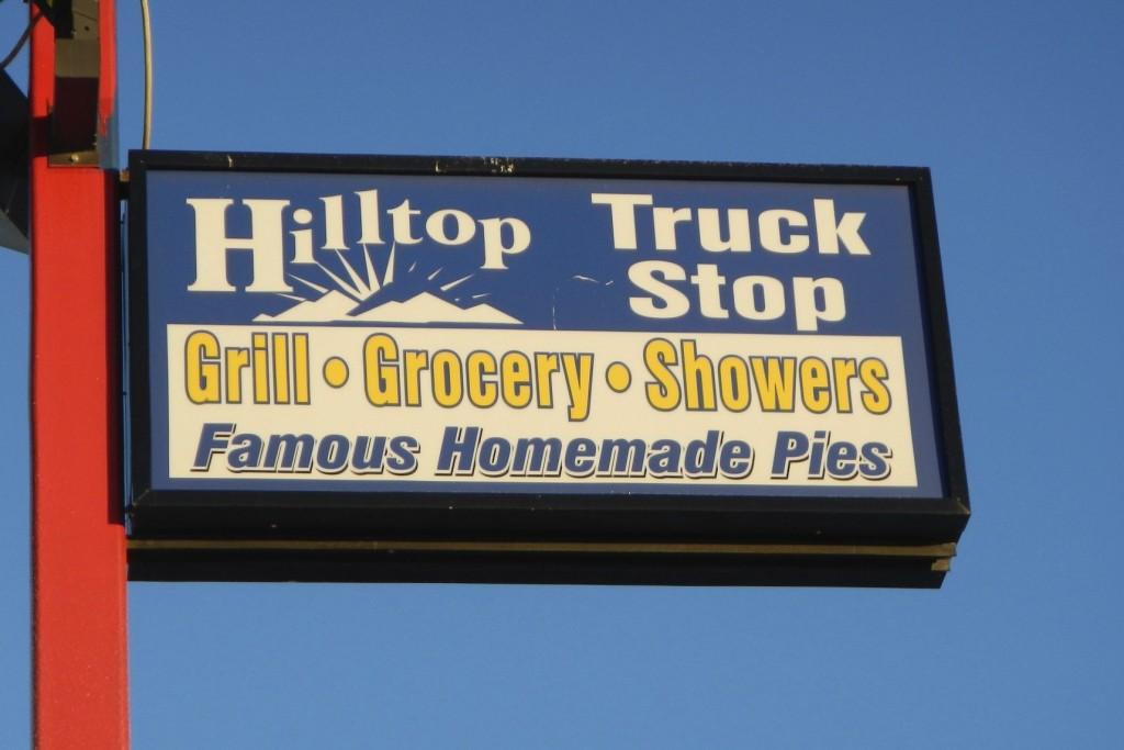 Hilltop Truck Stop - Last Stop for Fuel before Alaska's Dalton Highway