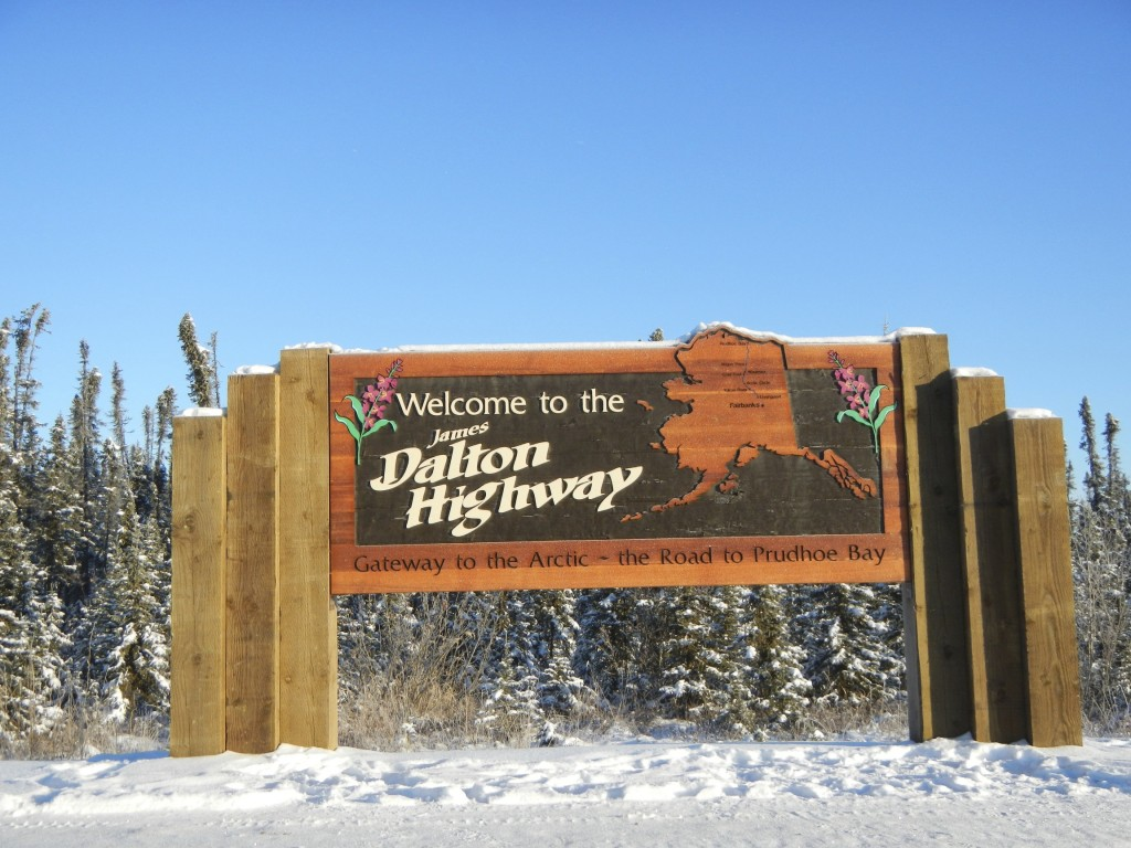Welcome to Alaska's Dalton Highway!