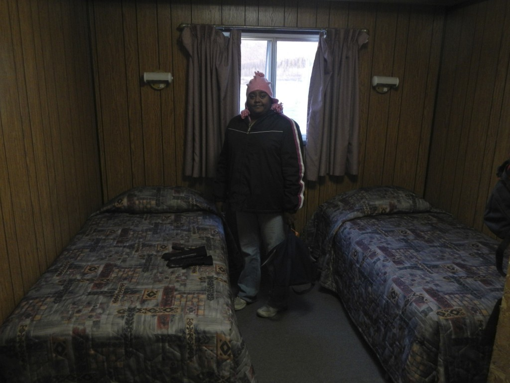 Our Great Lodging at the Coldfoot Camp