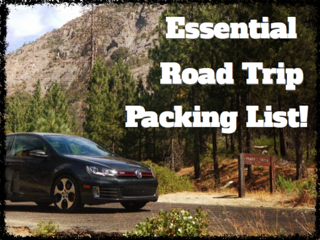 Essential Road Trip Packing List