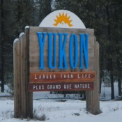 Welcome to Yukon Sign