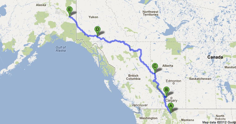 Whitehorse (YT) Canada  city pictures gallery : ... whitehorse yk tok ak crossing the usa canada border welcome to british