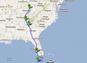 Miles From Chicago To Panama City Beach