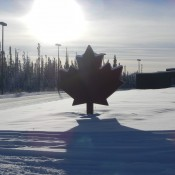 Crossing back into Canada