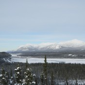 Kluane River in the Yukon Territory