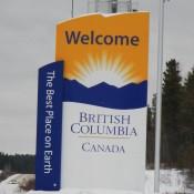 Entering BC