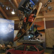 Overloaded Car at the Visitor Center