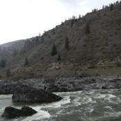 Driving along the Fraser River