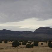 Rain Clouds in the Desert - Road Trip - Route 66
