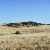 Driving Through Wupatki National Monument Arizona