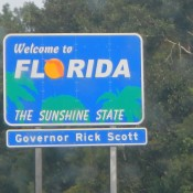 Welcome to Florida the Sunshine Sate