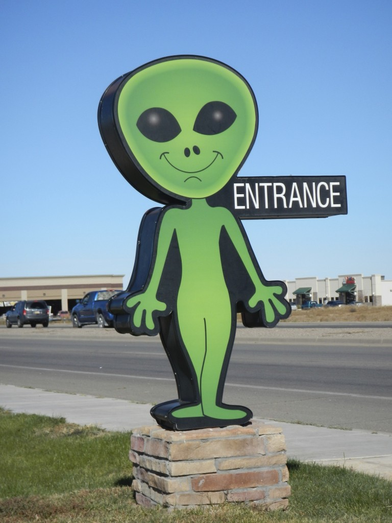 Alien Signs Road Trip Roswell New Mexico