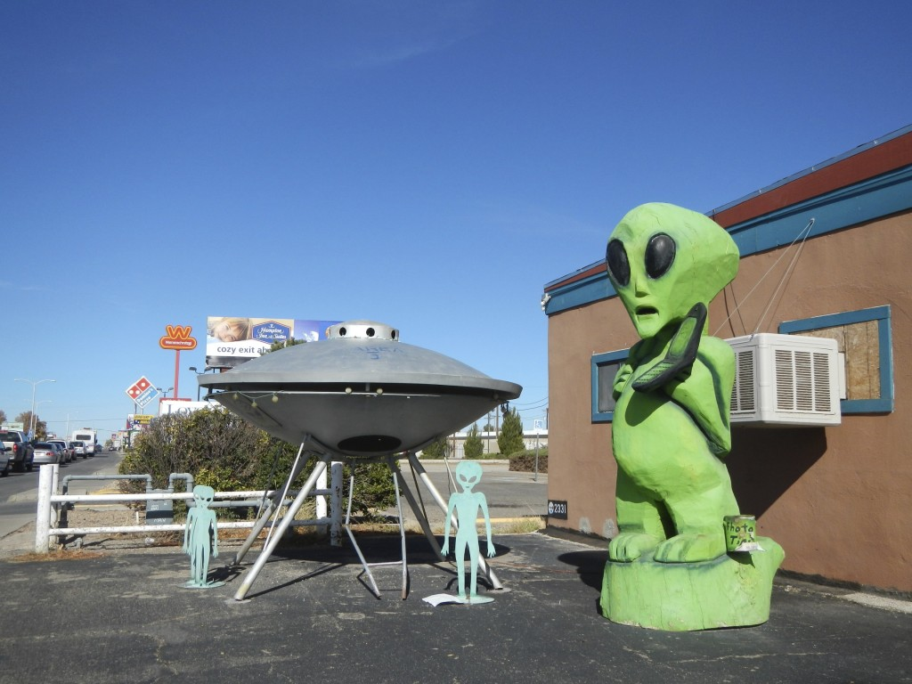 Roswell Alien Tribute New Mexico