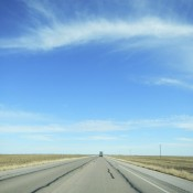 The open road along Texas Highway 380