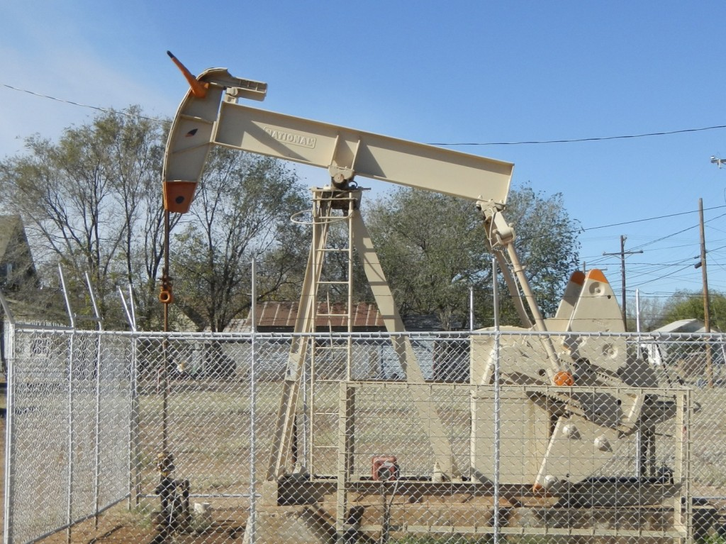 Oil Pumping Jack in Texas