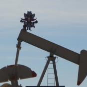 Oil Pump Jack outside of Post Texas