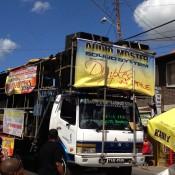 Music Truck Carnival in Trinidad