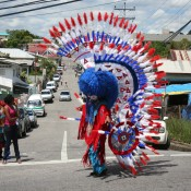Buffalo Bustle Dancer - Carnival in Trinidad