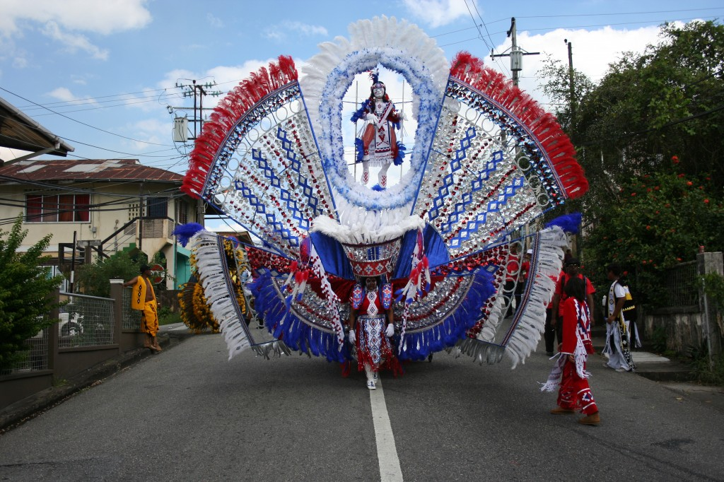 Jaggesar Queen Costume 2012 - Carnival in Trinidad