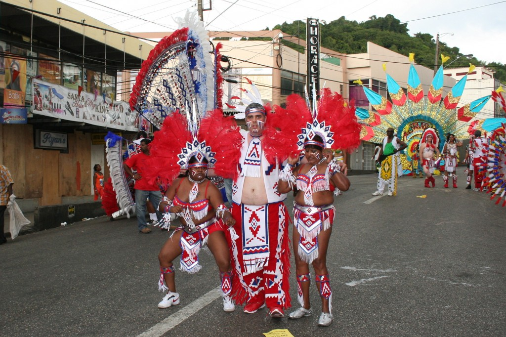 Kenin and his wining crew - Carnival in Trinidad