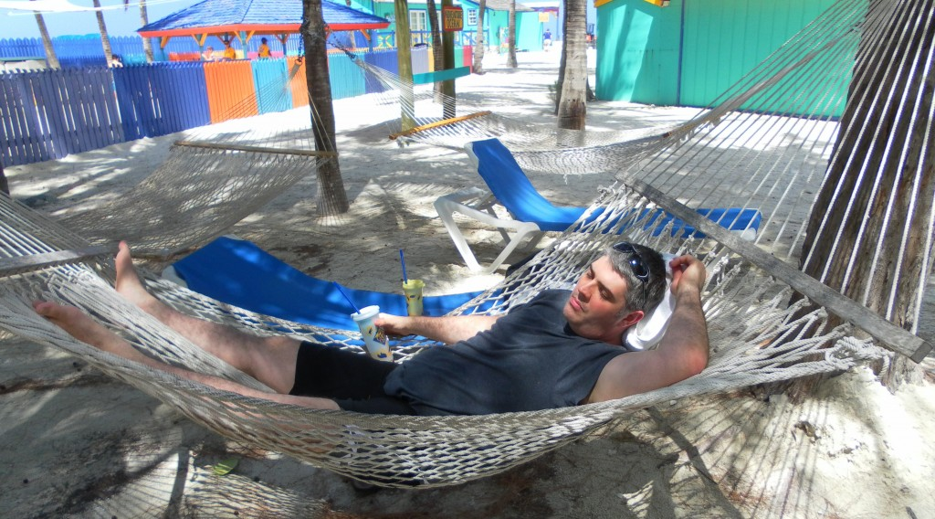 Kenin napping in hammock - Our Biggest Travel Regrets