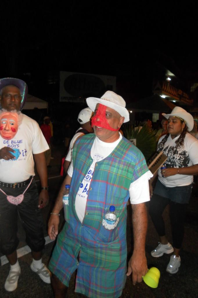 Ole Mas Reveller - Carnival in Trinidad