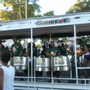 A Steel Pan Truck - Carnival in Trinidad