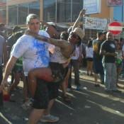 Wining at J'Ouvert - Carnival in Trinidad