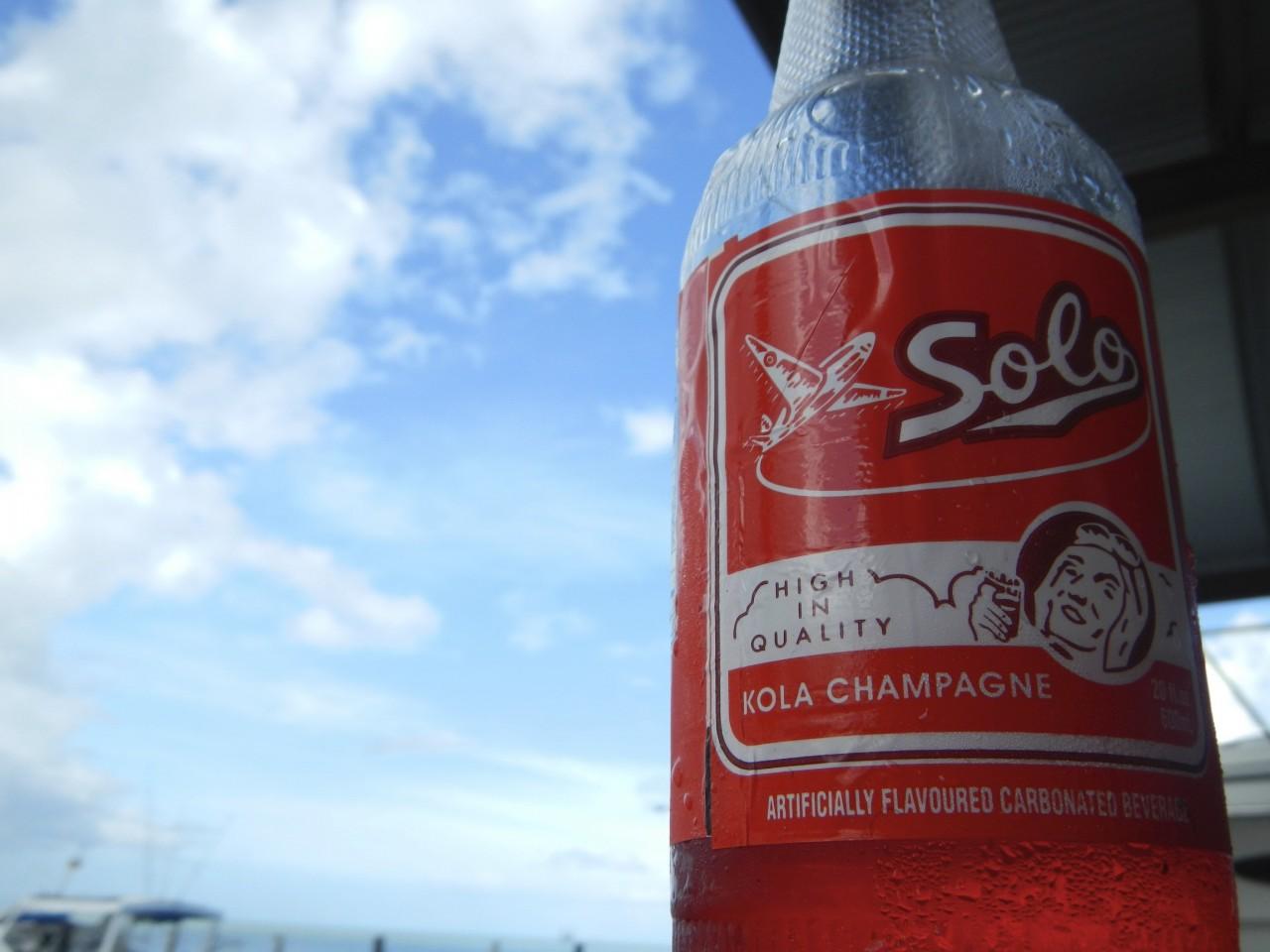 Solo Kola Champagne
