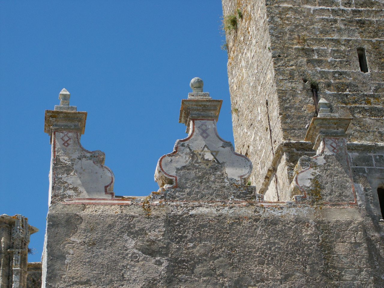 Detail of the old Church