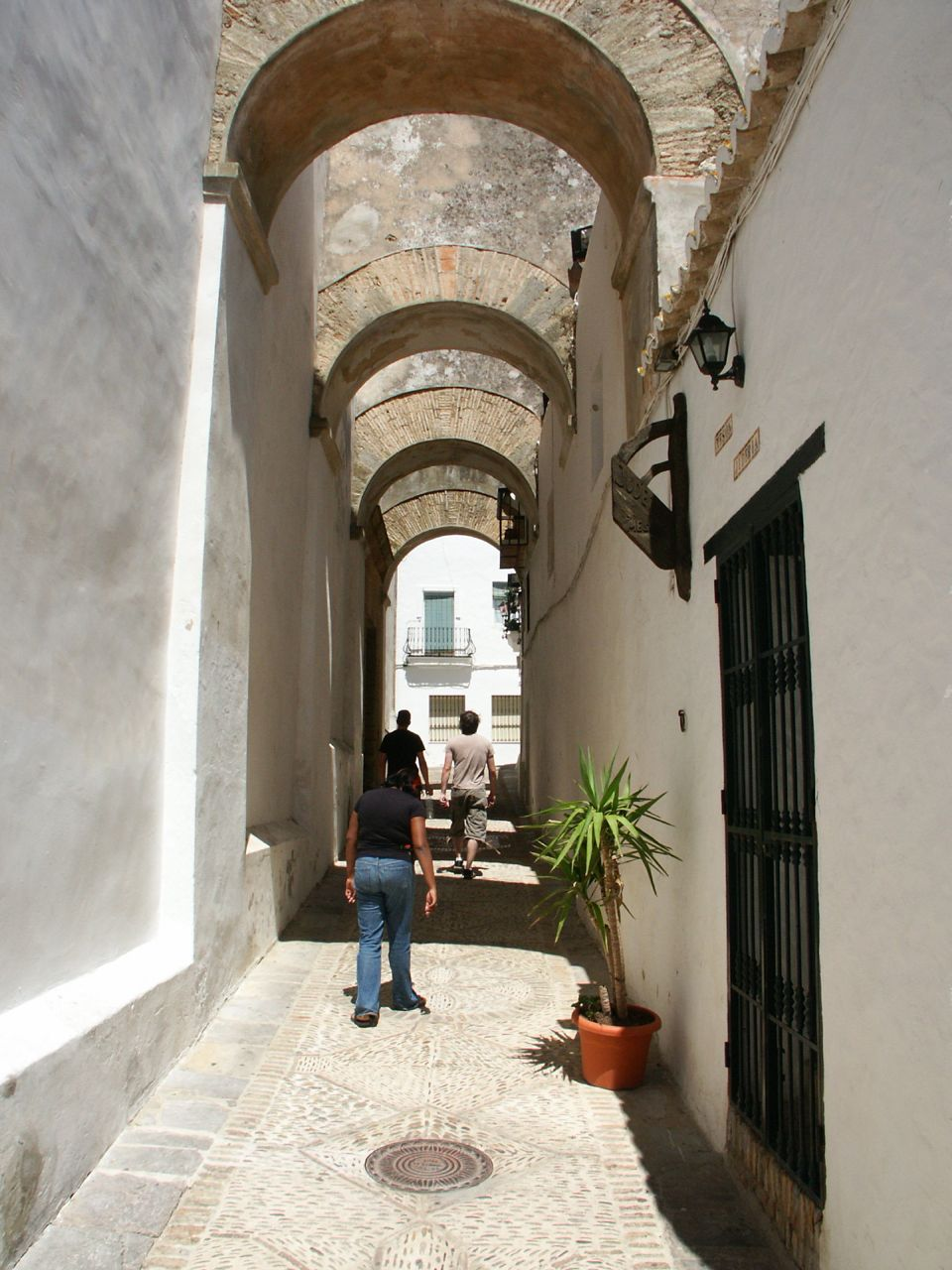 The Alley Way is thin and cramped