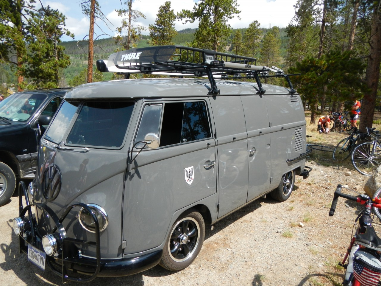 Wicked VW Bus Grey